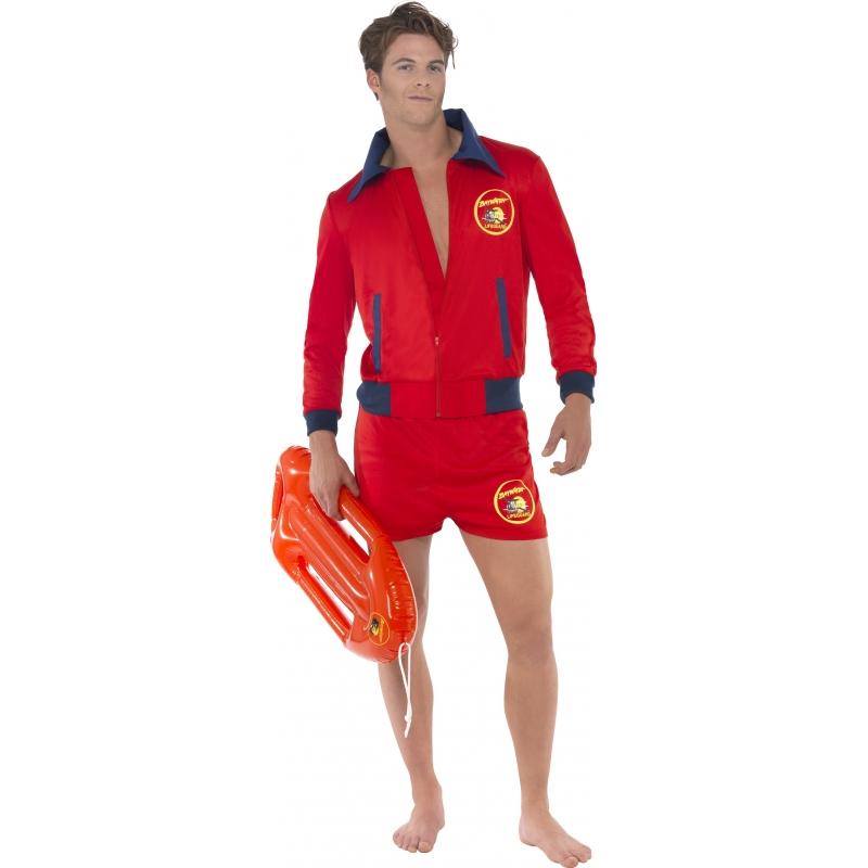Carnaval Baywatch lifeguard kostuum