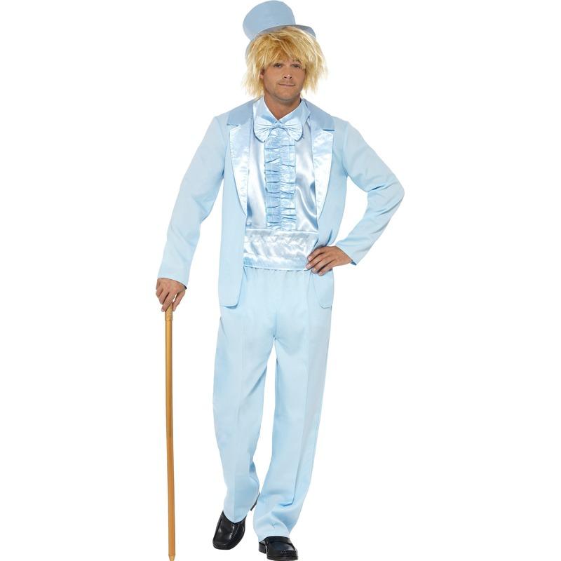 Carnaval Blauwe Harry smoking voor heren