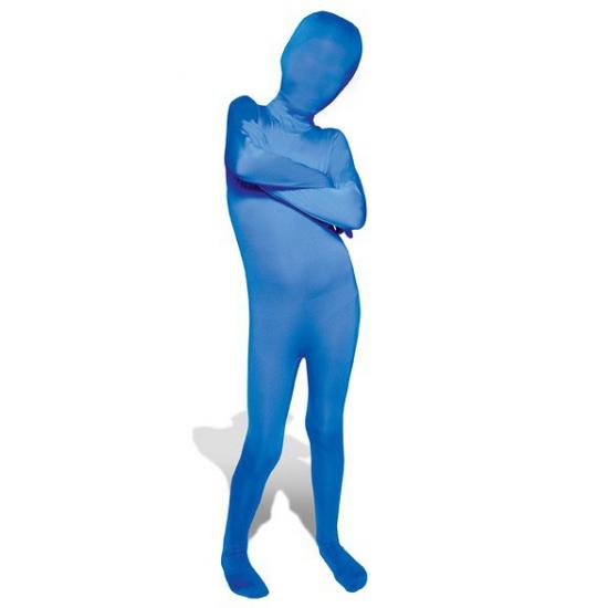 Soorten kostuums Morphsuits Carnaval Blauwe morphsuit voor kinderen