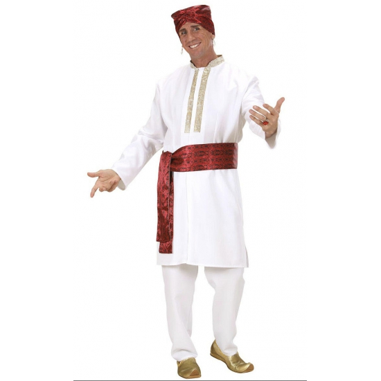 Carnaval Bollywood kostuum voor heren
