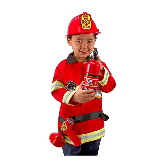Beroepen kostuums Carnaval brandweer pak voor kids