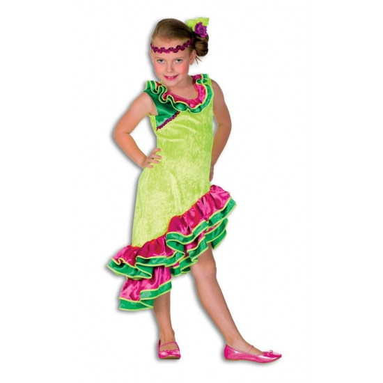 Carnaval Caribien jurkje voor meisjes