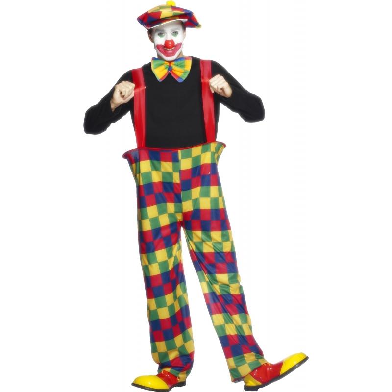 Carnaval Clowns kostuum voor volwassenen