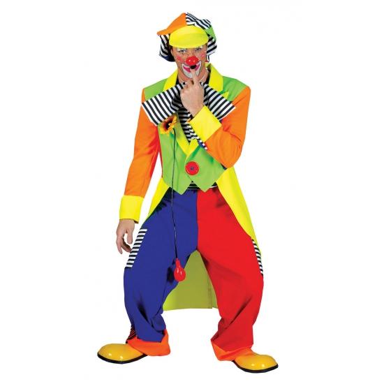 Carnaval clowns kostuum