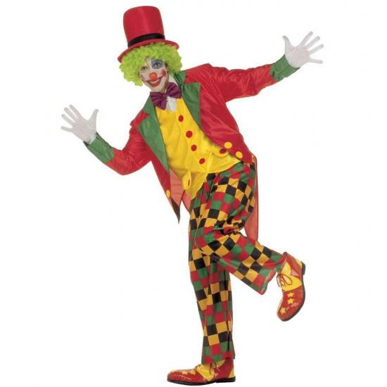 Carnaval Clowns outfit voor volwassenen