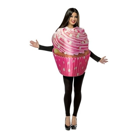 Carnaval Cupcake kostuum voor volwassenen