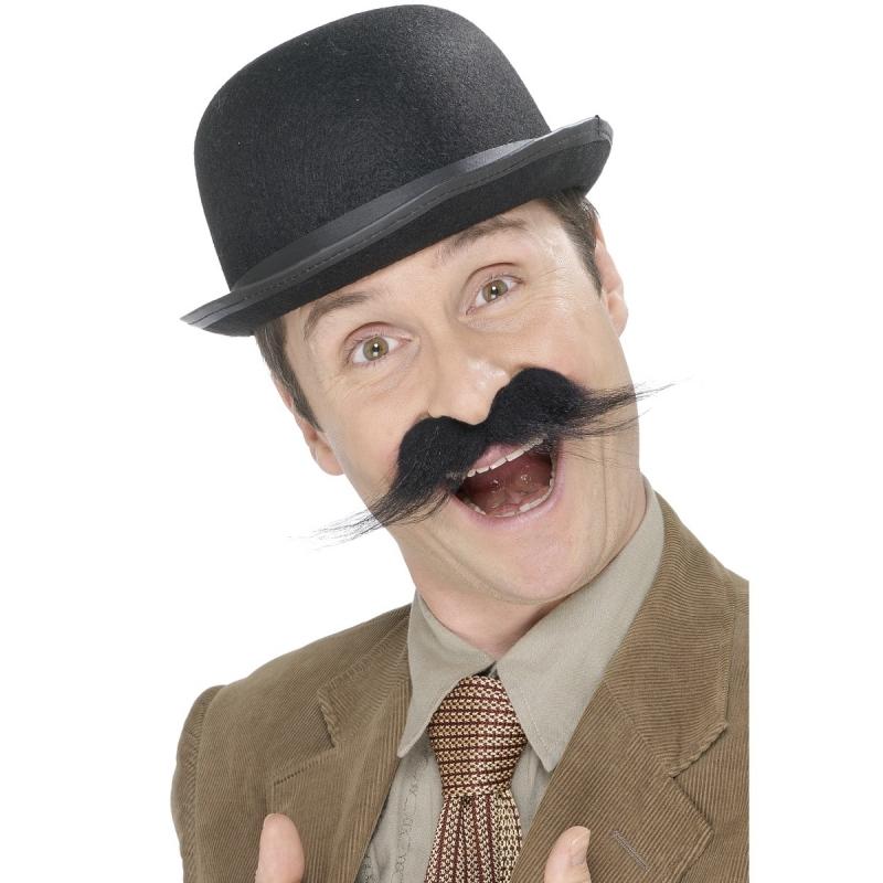 Verkleedaccessoires Geen Carnaval Detective snor