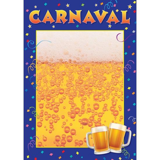 Carnaval deurposter