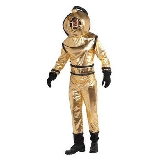 Carnaval Diepzee duikers kostuum voor volwassenen