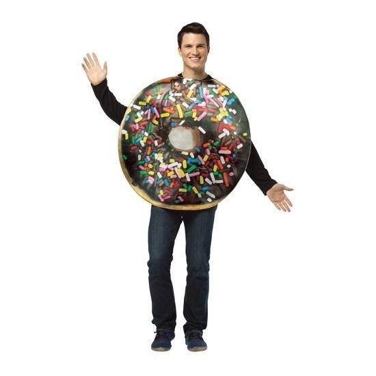 Carnaval Donut kostuum voor volwassenen
