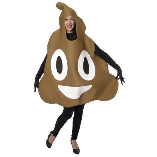 Carnaval Drol emoticon kostuum voor volwassenen