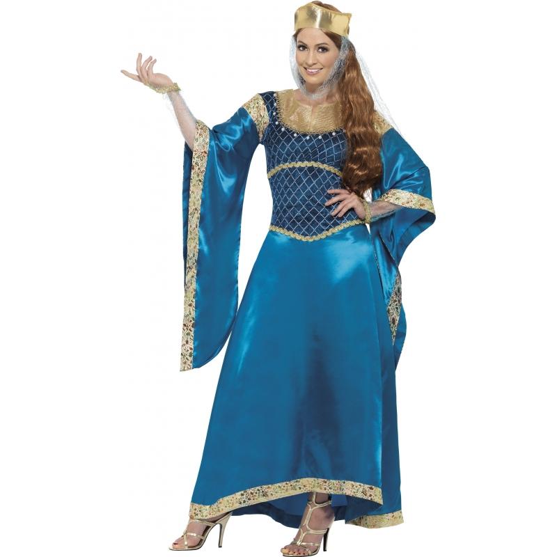 Carnaval Engelse prinses kostuum