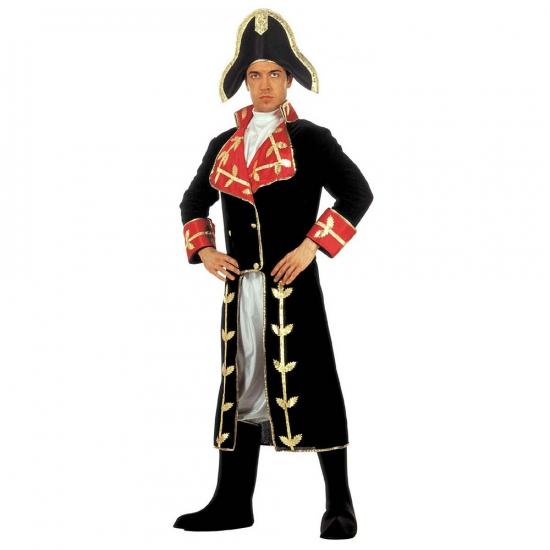 Carnaval Fluwelen kostuum Napoleon
