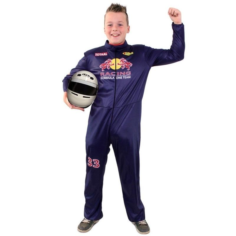 Carnaval Formule 1 overall voor kinderen