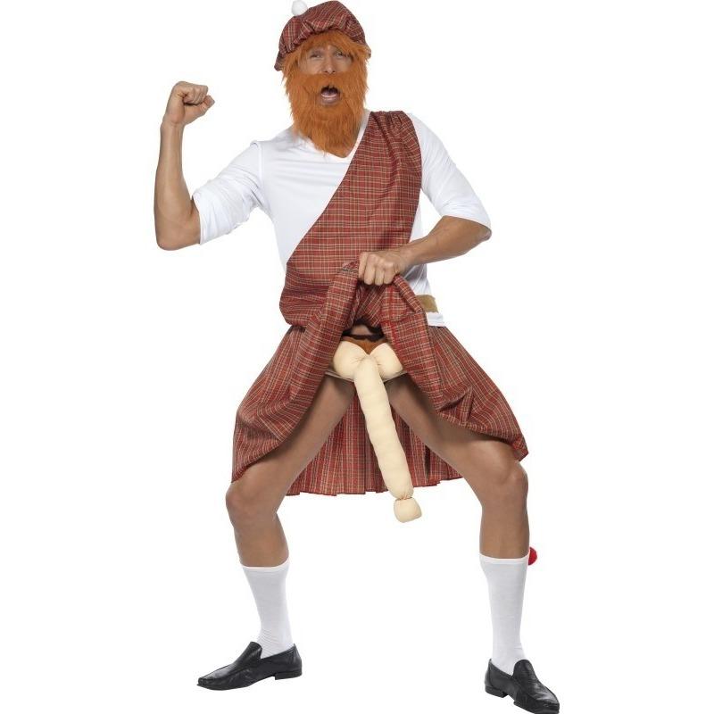 Carnaval Funny Schots kostuum voor heren