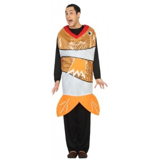 Carnaval Goudvis kostuum voor heren