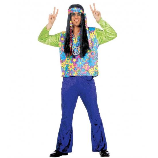 Carnaval Hippie kostuum voor heren