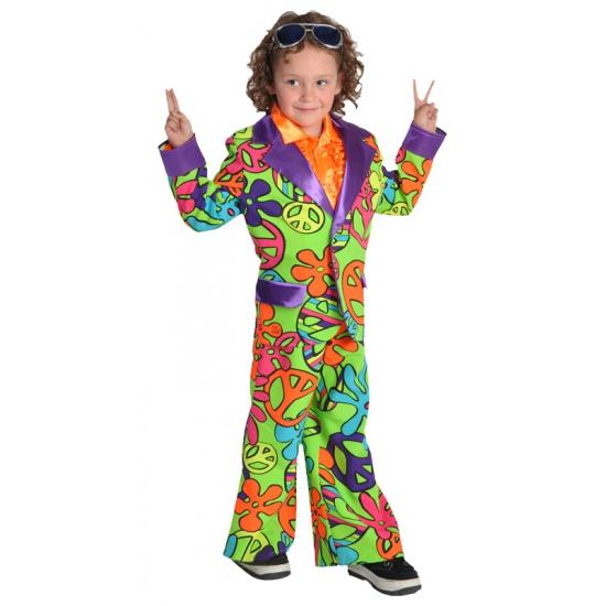 Geschiedenis kostuums Carnaval Hippie pak voor jongens