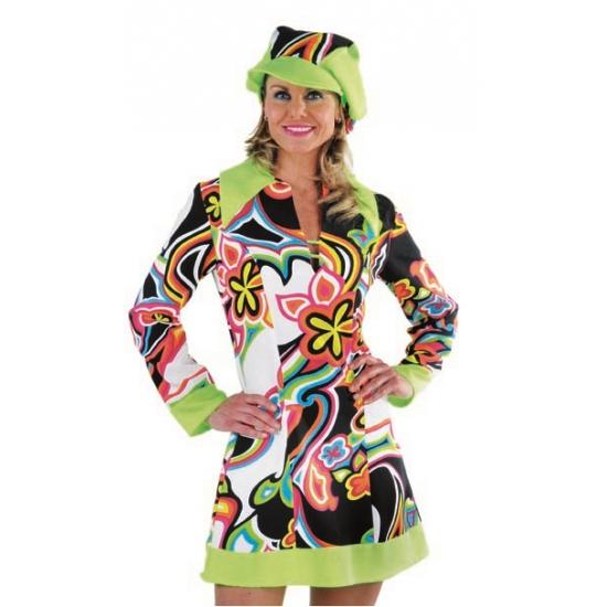 Carnaval Hippie/Sixties jurk dames
