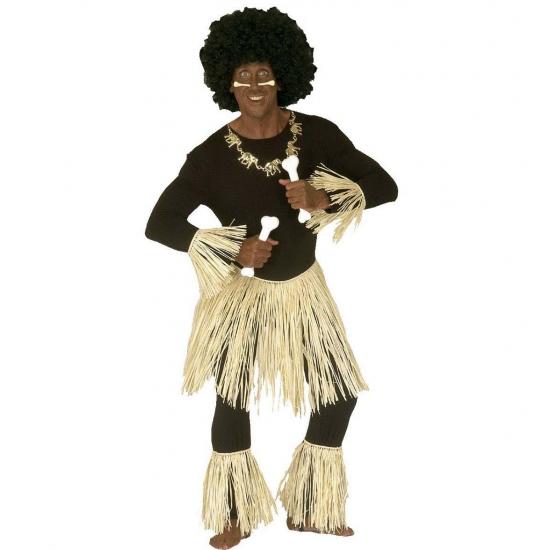 Landen kostuums Carnavalskostuum winkel Carnaval Inboorling zulu setje