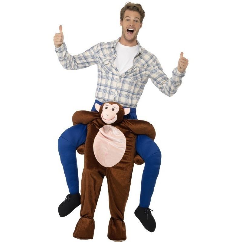 Carnaval Instap dierenpak kostuum aap voor volwassenen