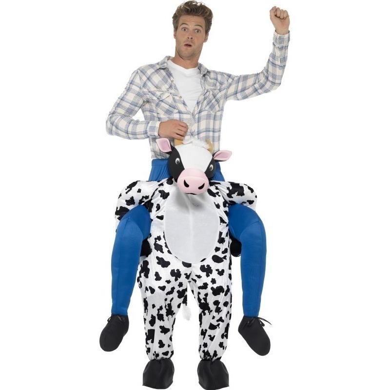 Carnaval Instapkostuum koe voor volwassenen