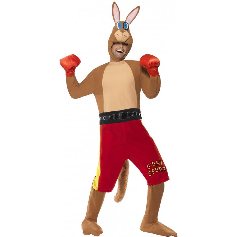 Carnaval Kangoeroe bokser kostuum
