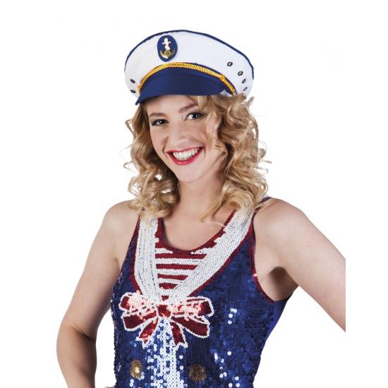 Carnavalskostuum winkel Carnaval Kapitein petje voor volwassenen Feest hoeden