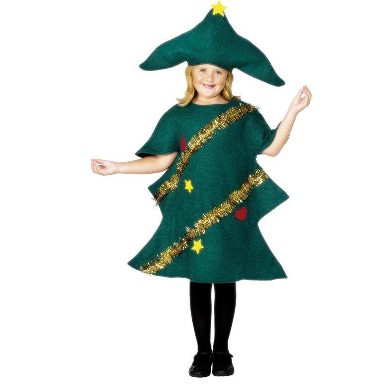 Carnaval Kerstboom kinderkostuum