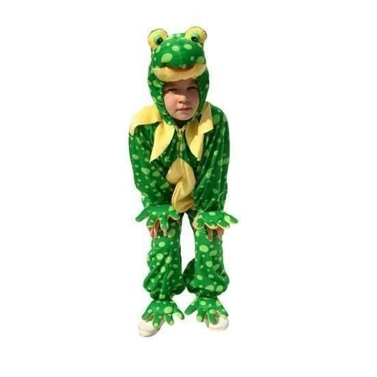 Carnaval Kikker kostuum pluche kinderen