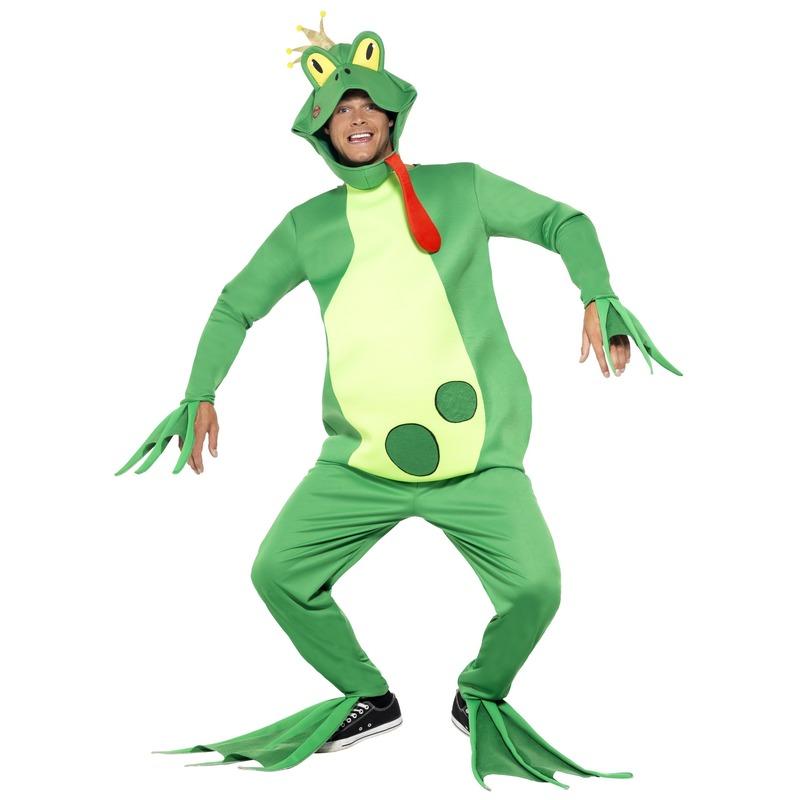 Carnaval Kikker prins kostuum voor heren
