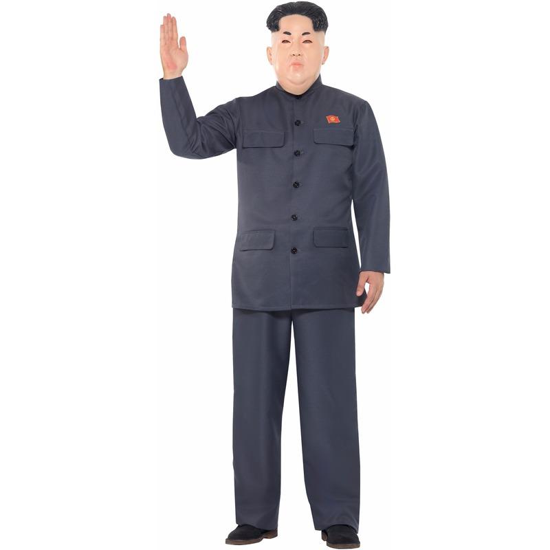 Carnaval Kim Jong Un kostuum voor heren