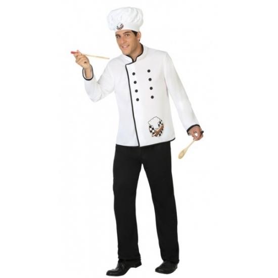 Carnaval Kok kostuum voor heren