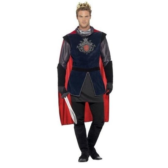 Carnaval Koning Arthur ridder kostuum voor heren