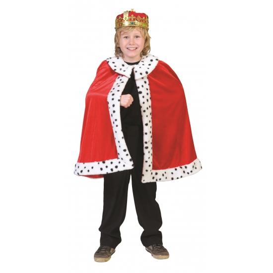 Carnaval Koning cape voor kinderen