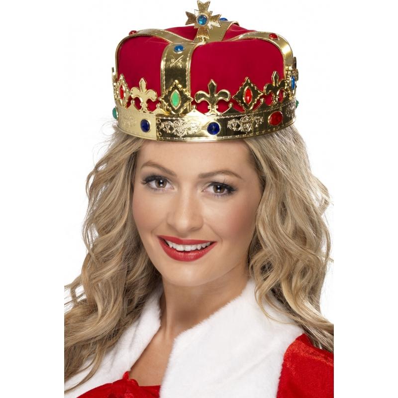 Carnaval Koninklijke gouden kroon Smiffys Geweldig
