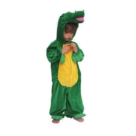 Carnaval Krokodil kinder kostuum pluche