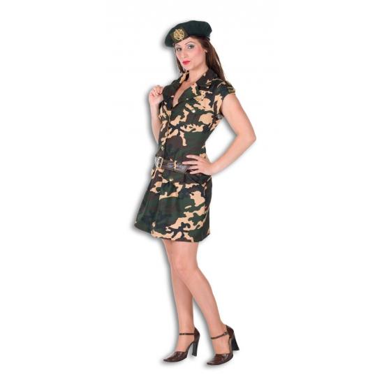 Carnaval Leger outfit voor dames