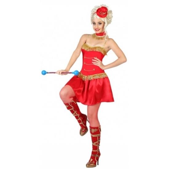 Carnaval Majorette kostuum voor dames