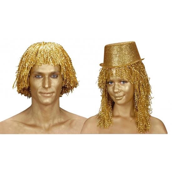 Verkleedaccessoires Carnavalskostuum winkel Carnaval Make up tube goud 28 gram