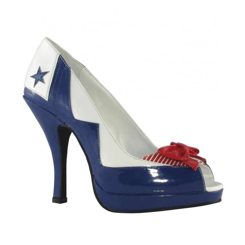 Carnaval Matrozen pumps voor dames Smiffys Verkleedaccessoires