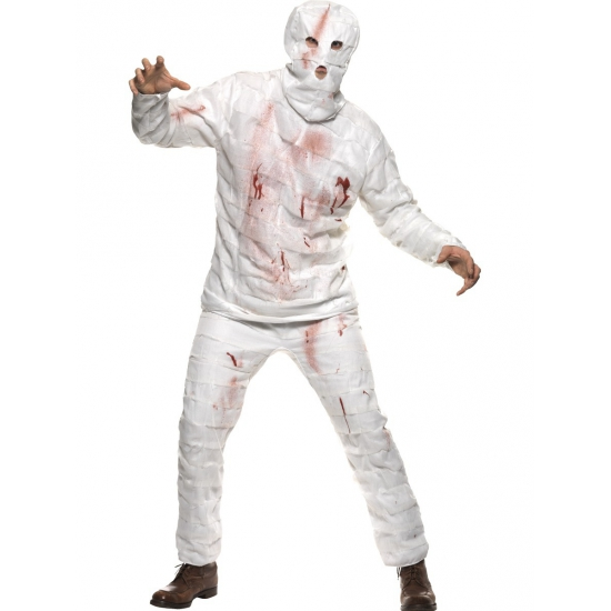 Carnaval Mummie kostuum 3 delig Smiffys Halloween kostuums
