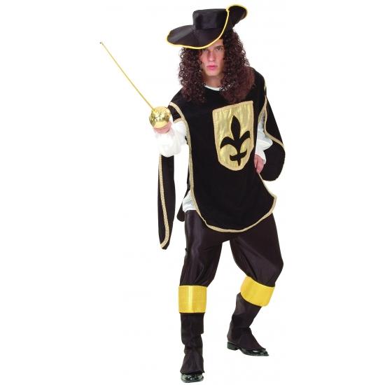 Carnaval Musketiers kostuums heren