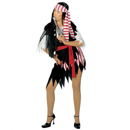 Carnaval Piraten dames verkleed kleding