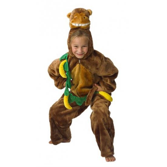 Carnaval Pluche aap kostuum voor kinderen