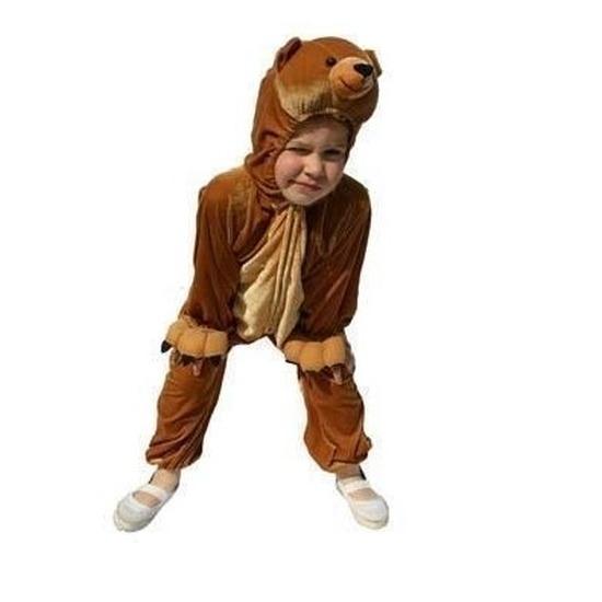 Carnaval Pluche beer kostuum voor kinderen