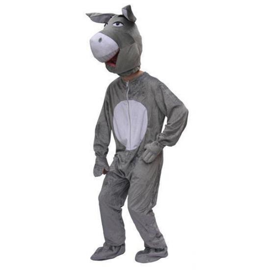Carnaval Pluche Ezel Kostuum Volwassenen