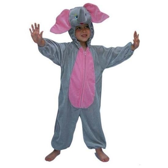 Carnaval Pluche olifanten kostuum kinderen