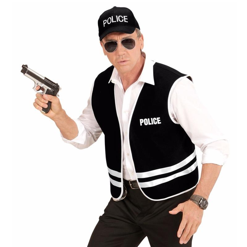 Carnaval Politie verkleedset voor volwassenen