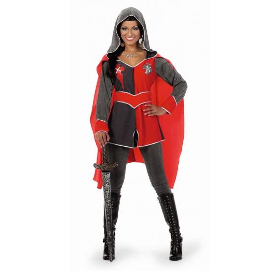 Carnaval Ridder kostuum dames Gwen
